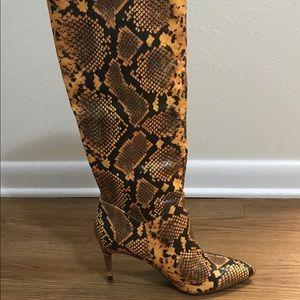 Steve Madden stiletto dress boots.